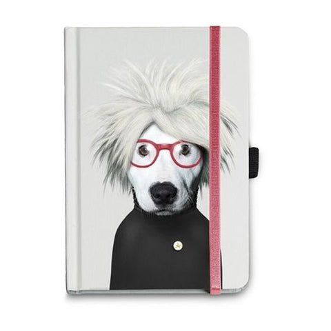 Pets Rock - Famous Faces - Andy Notebook