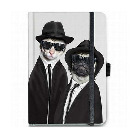 Pets Rock - Famous Faces - Blues Notebook