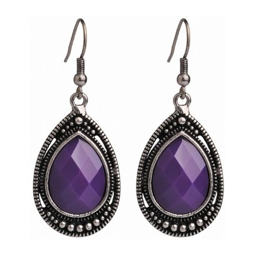 JATOE sells Anna Nova Camilla Jade Purple Hook Earrings