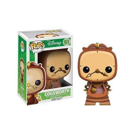 Funko Pop Vinyl - Beauty and the Beast - Cogsworth (91)