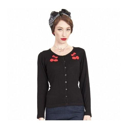 JATOE sells the Collectif UK Jo Cherry Cardigan.