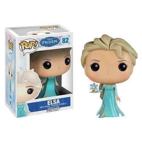 JATOE specialises in selling Funko Pop Vinyls and collectibles collectables. This is Elsa 82 from Frozen