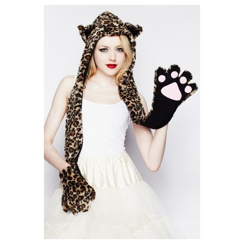 JATOE sells Hell Bunny Hoods including the Leopard Hood with gloves