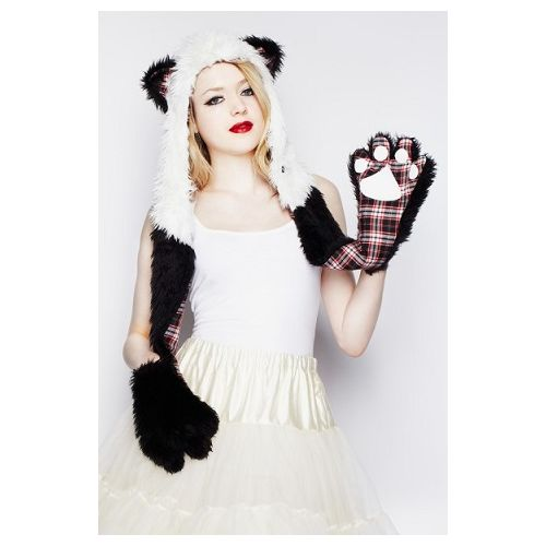 JATOE sells Hell Bunny Hoods including the Panda Hood with gloves