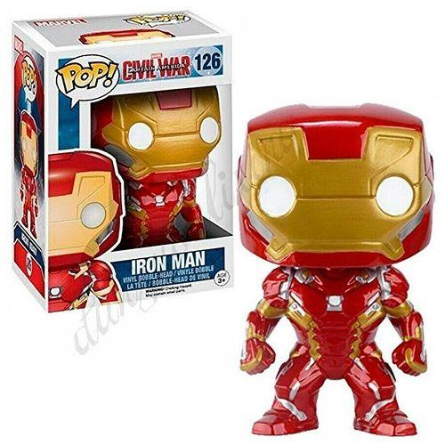 JATOE specialises in selling Funko Pop Vinyls. This is Iron Man 126