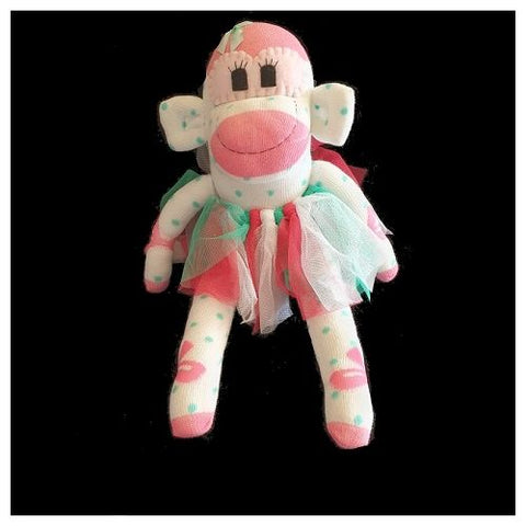 Sock Monkey - Miss Dottie - Maur Monkeys