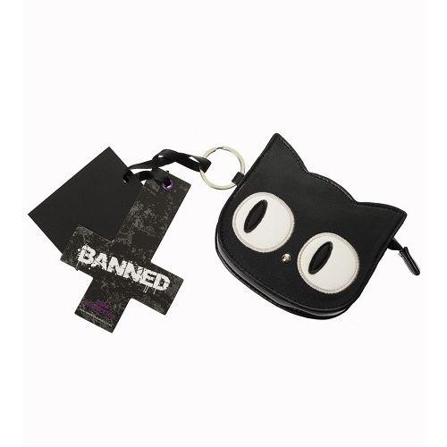 Banned Heart of Gold Cat tote bag and  Coin Purse sold at JATOE!