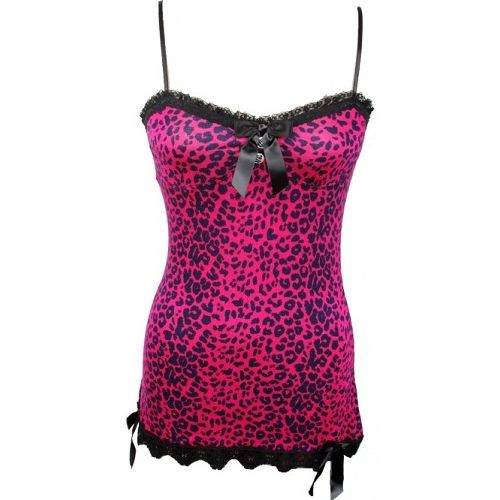 Jessica Louise - Pink Leopard Tank Top