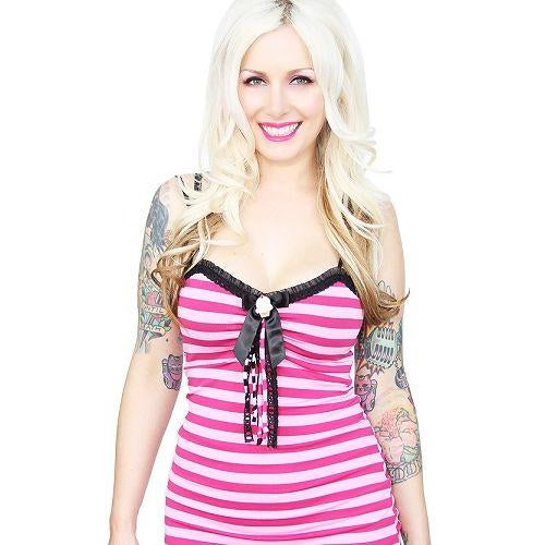 JATOE sells Jessica Louise Clothing Berry Lolly Striped Tank Top