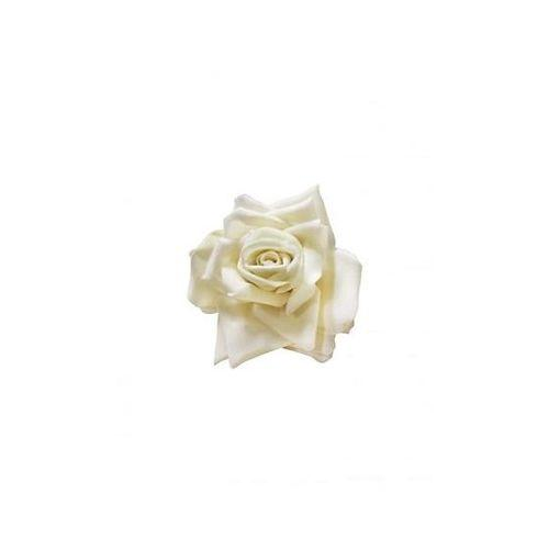 JATOE sells Collectif UK retro Small White Rose Hair clip made of fabric. www.jatoe.com.au