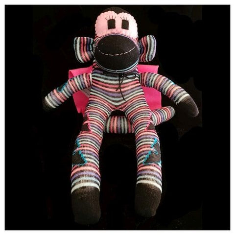 Sock Monkey - David the Super Monkey - Maur Monkeys