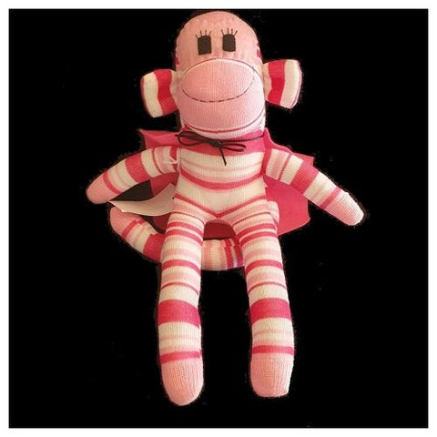 Sock Monkey - Sophie the Super Monkey - Maur Monkeys