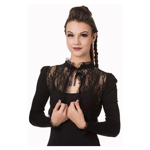 JATOE sells the Banned Victorian Inspired Lace Bolero