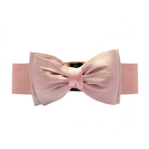 Collectif UK - Pink Bella Bow Belt