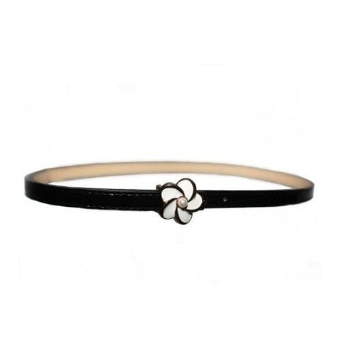 Collectif UK - Black Daisy Pearl Belt