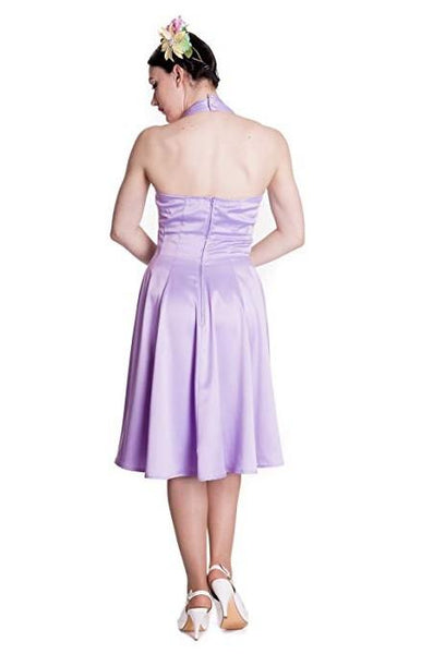 Hell Bunny Lavender Macy Dress
