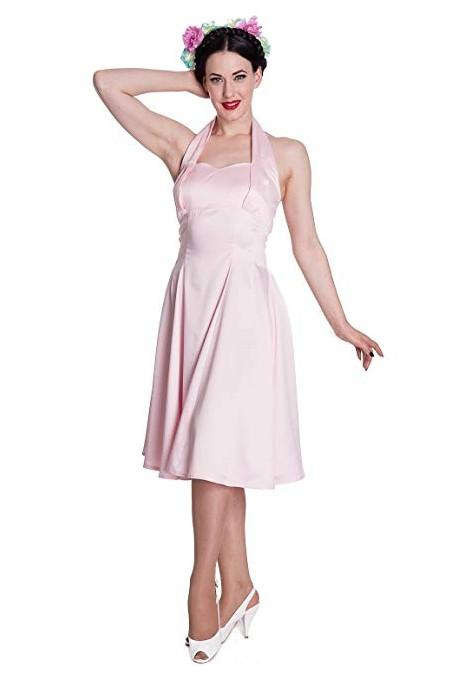 Hell Bunny Pink Macy Dress