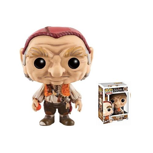 "Funko has paid homage to the fabulous film, ""Labyrinth"", starring David Bowie by releasing a set of Pops for fans. This is a non mint Hoggle"