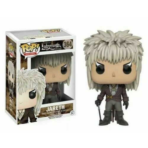 "Funko has paid homage to the fabulous film, ""Labyrinth"", this is the Jareth 364 Pop Vinyl sold at JATOE www.jatoe.com.au"