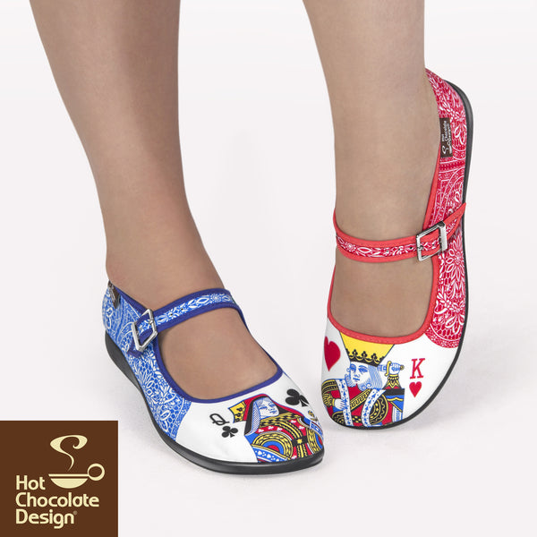Hot Chocolate Design Shoes - Lady Poker