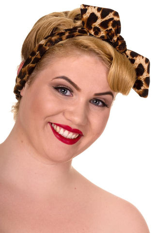 Collectif UK Leopard Print Hair Accessory