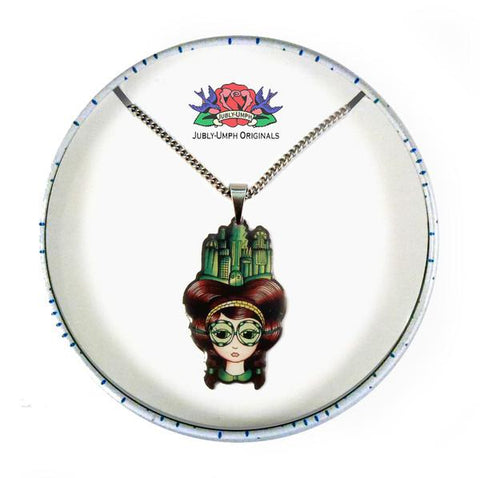Jubly Umph Necklace - Dorothy Pendant Necklace in a Tin