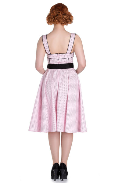 Hell Bunny - Martie 50's Pink Dress (4562)