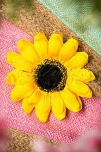 Collectif UK Sunflower Hair Accessory