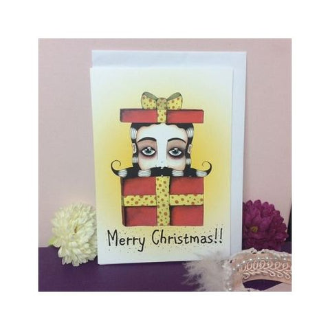 Jubly Umph - Surprise Merry Christmas Greeting Card
