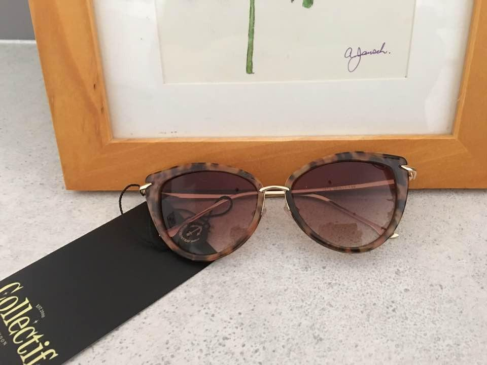 Collectif UK - Dita Tortoise Shell Sunglasses