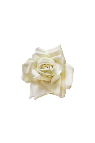 Collectif UK Small White Rose Hair Accessory