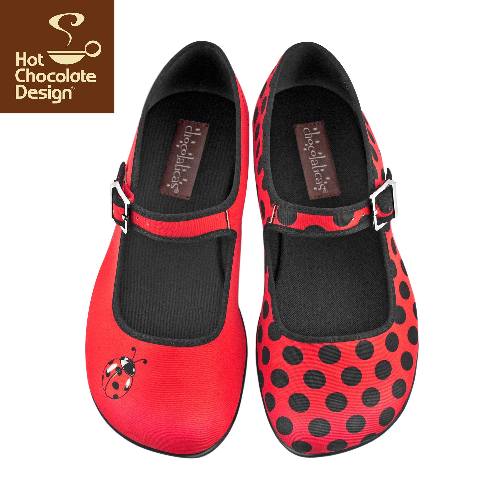 Hot Chocolate Design Shoes - Lady Bug