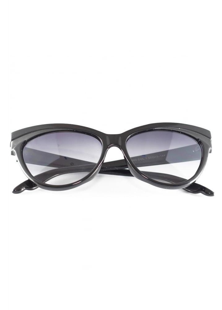 Collectif UK - Judy Classic Black Sunglasses