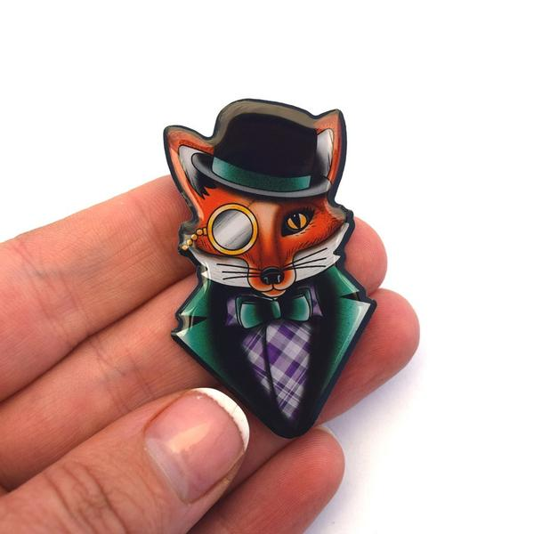 Australian online store, JATOE, sells Jubly Umph Felix the Dapper Fox Gift Sets from Miss Jubly Umph. Stay Weird!