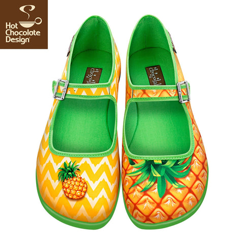 Hot Chocolate Design Shoes - Pineapple
