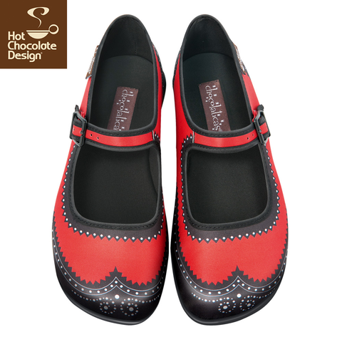 Hot Chocolate Design Shoes - Habana Carmine
