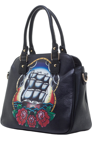 Jubly Umph Handbag Sailing Ship Handbag