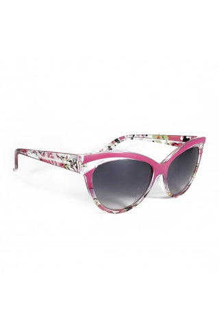 Collectif UK Accessories - Judy Floral 50s Sunglasses
