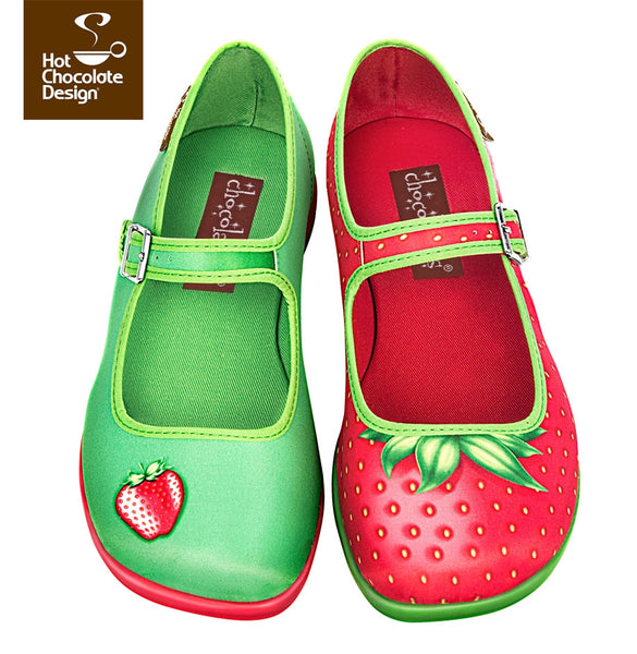 Hot Chocolate Design Shoes - Strawberry