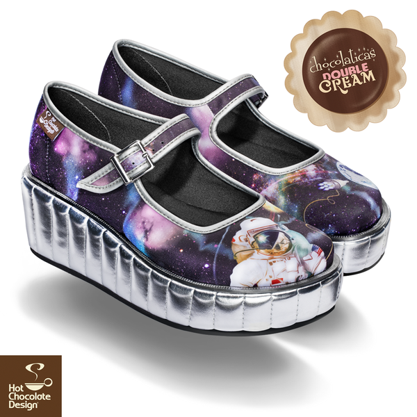 Platform Double Cream Hot Chocolate Shoes - Gravity