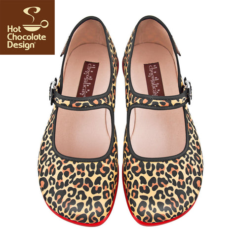 Hot Chocolate Design Shoes - Leopard Print