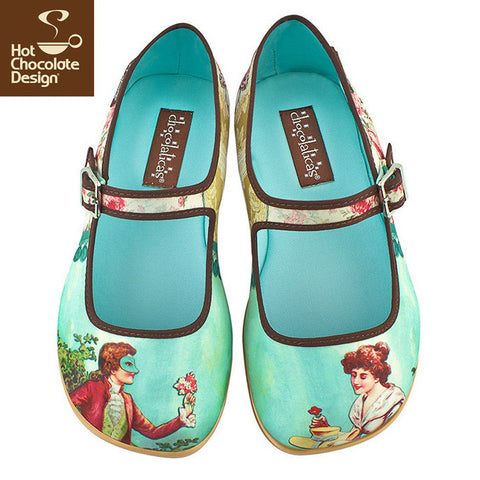 Hot Chocolate Design Shoes - Poesy Flats
