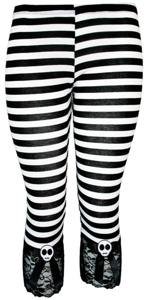JATOE sells Jessica Louise Clothing the Striped Capris Leggings