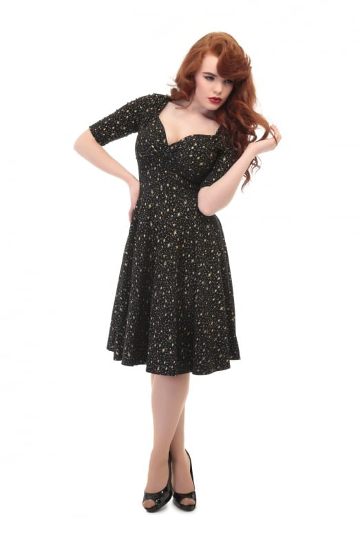 Collectif UK - Mainline Trixie Atomic Star Doll Dress