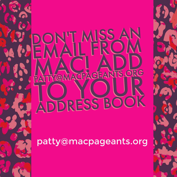 Don't miss any MAC Mail!