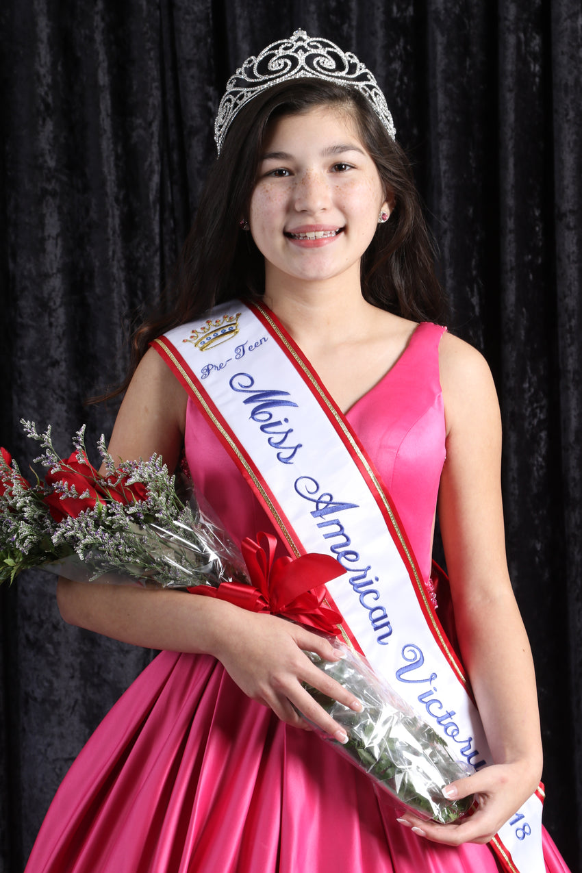 2018 Miss American Victory Preteen
