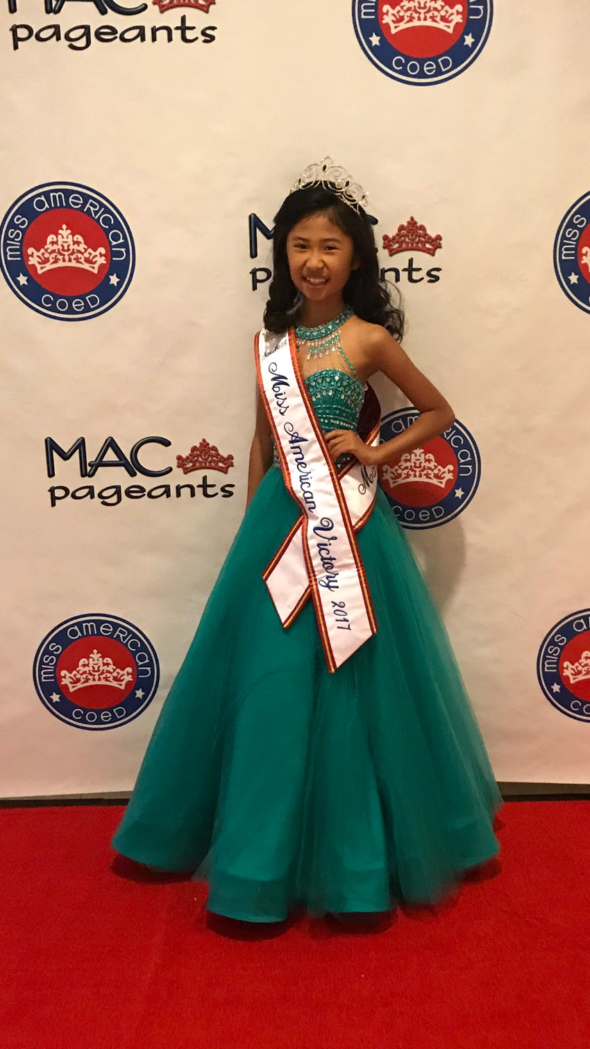 2017 Miss American CoEd National Victory Sweetheart