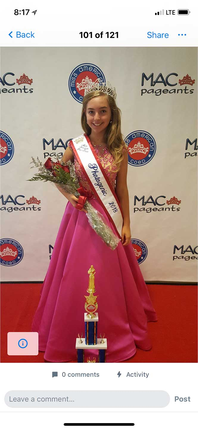 2017 Miss Florida Preteen