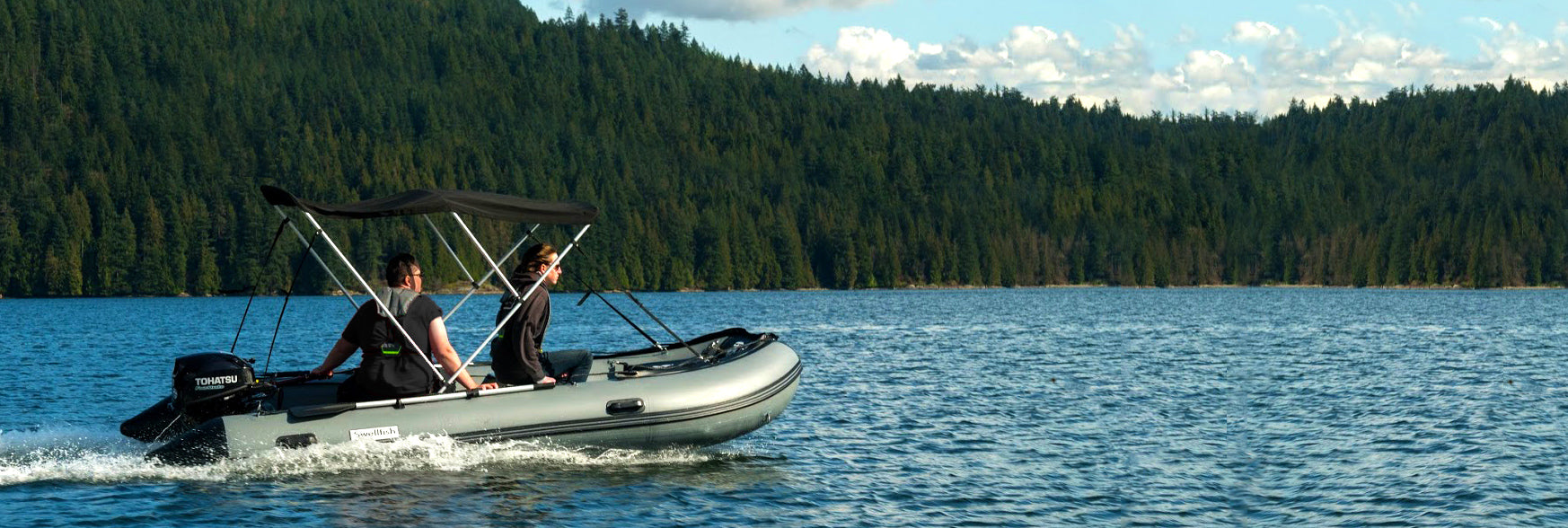 Ocean Fishing Inflatable Boat