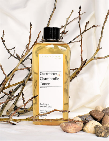 Cucumber & Chamomile Toner with Vitamin B5 - Sensitive Skin - Vegan Toxic Free